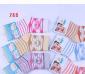旭威 宝宝袜 婴儿袜子 韩国 新生儿童袜子批发 mini袜 地板袜 388